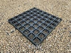 10 X 8ft Garden Shed Base Grids Heavy Duty Greenhouse Plastic Eco Base Pavers