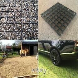 200 (50sq/m) ECO Plastic Grids Gravel Grass Grids Drive Mats Car Parks Bases etc