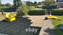 40 X GRAVEL GRIDS GRASS DRIVE GRIDS PERMEABLE DRAINAGE SLABS PLASTIC ECO PAVINGn