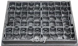 600 x 600 x 80mm EcoGrid Gravel Retention Manhole Cover for Driveways, Paths etc