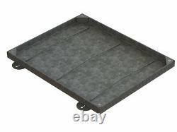 750 x 600 x 43mm Sealed & Locking Recessed Manhole Cover T26G3 Alternative