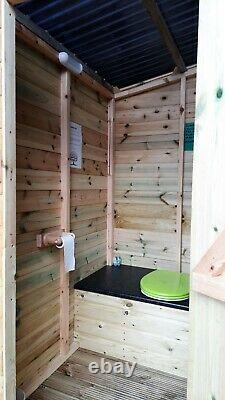 Compost Toilet Eco Loo Waterless Chemical Free Off Grid Campsite Glamping