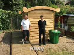 Composting Toilet & Disabled Access Off Grid Eco Friendly Wooden Outdoor Cubicle