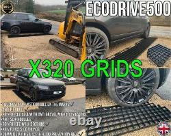 Driveway Grid 80 Sqm & Membrane Permeable Eco Parking Gravel Drive Stability