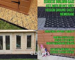ECO SHED BASE GRID KIT ALL SIZE eg 6x4 8x6 10x8 PLASTIC ECO SLAB GREENHOUSE em