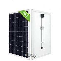 ECO-WORTHY 120W 12V Off Grid Solar Panel High Efficiency Monocrystalline Module