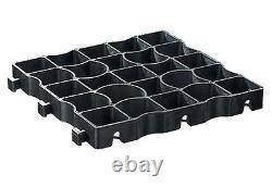 EcoGrid E40 33cm x 33cm x 4cm 20 Year Guarantee 90 Square Metre SuDS Grid