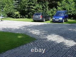 EcoGrid E40 33cm x 33cm x 4cm Sustainable Porous Paving Grid System 10sqm