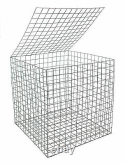 EcoGrid Gabion Basket 0.55 x 0.55 x 0.55m 5 Pack Discount Postage Deal
