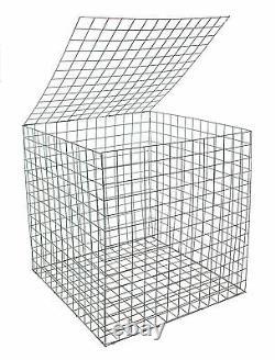 EcoGrid Gabion Basket 0.55m x 0.55m x 0.55m Erosion Control Decorative