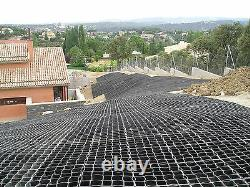 EcoGrid S50 33cm x 33cm x 5cm Permeable Paving Grid System 10 Square Metres