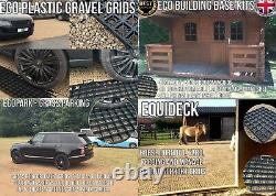 Eco Plastic Grid Garden Shed Building Base Grid Heavy Duty Gravel Support Grids