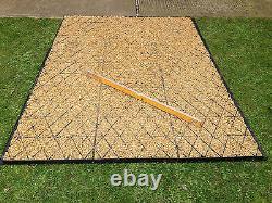 GARDEN SHED BASE KIT 12 x 8 +MEMBRANE ECO GRASS BASE GRID 8 x 12 DRIVEWAY GRIDS2