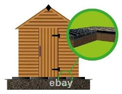 GARDEN SHED BASE KIT 18x8 HEAVY DUTY BASEGRID SUITS SHEDS & GREENHOUSES ECO GRID