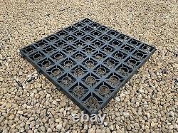 Garden Shed Base Reinforced Gravel Grids Outdoor Greenhouse Eco Slabs + Membrane