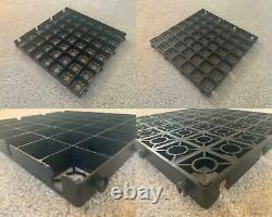 Greenhouse BASES & FLOORS Polytunnels Cold Frames ECO GRAVEL GRIDS WITH MEMBRANE