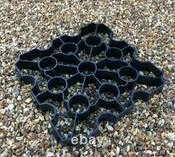 Ground Reinforcement Grid Driveway Recycled Eco Grass Gravel Car Park 20 SQM UK