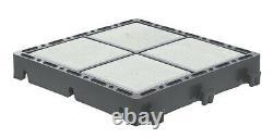 New! EcoGrid Bloxx Permeable Block Paving Alternative Porous Grid 36sqm