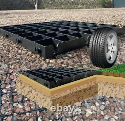 Parking Grid Grass Plastic Reinforced Permeable Driveway Ecodeck Eco Paving Grid