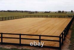 Premium 20 X 40m Horse Arena Manege Construction EcoGrid & Geotextile Package