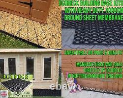 SHED BASES KIT + MEMBRANE 6x4 8x6 10x6 10x8 12x6 12x8 ECO BASE / GREENHOUSE em