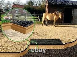 Stable Yard Grid 6 Square Metres Eco Field Shelter Base Grids Menage Equideck