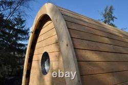 Timber Arc Compost Toilet Waterless Off Grid Eco Friendly Wooden Outdoor Cubicle