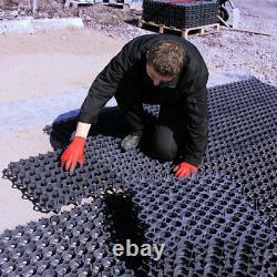 16 Gravel Grass Grids Plastique Eco Paving Drive Car Park Chemin Base 4m2