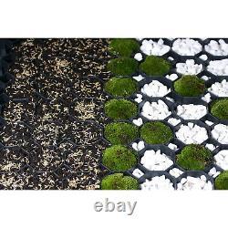 18 M2 Gravel Drive Grilles Parking Eco Grass Driveway Plastic Geo Grid Paving
