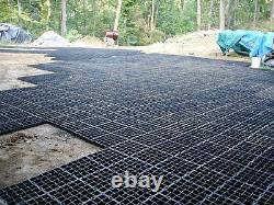 54.67m2 Palette Pleine De Ecogrid E50 Plastique Pavage Poreux Grille De Stationnement D'herbes