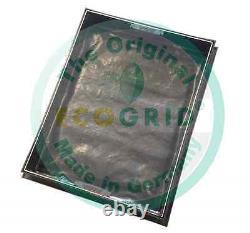 600 X 600 X 100 MM Ecogrid Couverture De Trou D'homme Encastré De Gravier 791r/100 Alt & Ecogrid