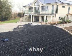 90 M2 Gravel Grid Driveway Grilles Plastic Eco Renforcé Drives Mats Crates