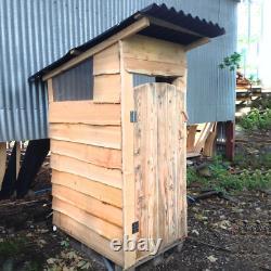 Budget Compost Toilettes Sans Eau Hors Grille Eco Friendly Cubicule Extérieur En Bois