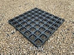 Chemin De Jardin Base Full Kit + Heavy Duty Membrane Eco Slab Greenhouse Base Grid Em