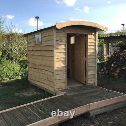 Composting Toilettes & Accès Handicapés Hors Grille Eco Friendly Cubicle Extérieur En Bois