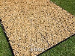 Cuisine De Base À Chemin De Jardin 12 X 8 + Grid Eco Grass De Base De Membrane 8 X 12 Grids De Voyage De Conduite2