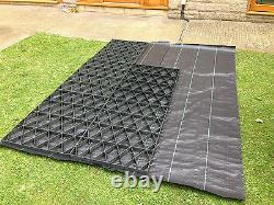 Cuisine De Base De Chemin De Jardin 8 X 12 + Base Réelle De Membrane Est Grids Eco Plastic 12x8.6ft2