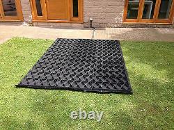 Cuisine De Base De Feu + Sauvage Hd Fabric 6x4 8x6 10x6 10x8 12x6 Grids Eco Grids Em