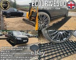 Drive Grid Kit 12 Sq Mtr Perméable Eco Driveway Plastic Gravel Base Paving Grid
