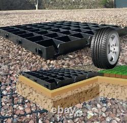Eco Garden Fiche Base 12x8 Feuilles Ou 4x2,5 M Permeable Eco Parking Gravel Drive