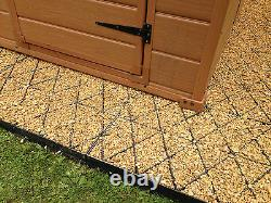 Eco Shed Base Grid Kit Toutes Taille, P.ex. 6x4 8x6 10x8 Plastique Eco Slab Greenhouse Em