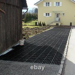 Ecogrid E40 33cm X 33cm X 4cm Système Durable De Grille De Pavage Poreux 10m2