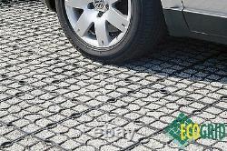 Ecoraster Ecogrid E30 Pavage Perméable Solution Durable 10 Mètres Carrés