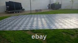 Événement Marquee Flooring Eco Mat Path Protection De L'herbe Et Chemin De Grille De Plancher Temporaire