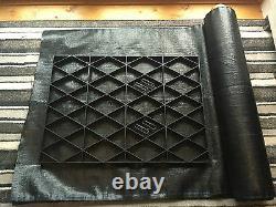 Feuilles Grid Plastic Slab Kit Eco Ground Slab Eco Greenhouse Base Grid Em
