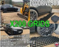 Gravel Grid Grass Drive Grilles Perméable Drainage Slabs Plastique Eco Paving 50m2