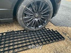 Grille D'allée 22 Sqm + Kit Membrane Perméable Eco Stationnement Gravel Drive Stabilité