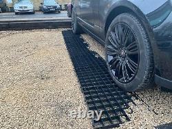 Grille D'allée + Kit Membrane Perméable Eco Parking Gravel Drive Stabilité 90 Sqm
