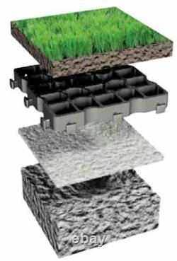 Grille De Revêtement En Plastique Ecogrid Meilleure Qualité Indestructible 20 Ans Garantie