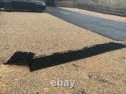 Grilles D'allée 20 Mètres Carrés Plastic Eco Grass Grid Paving Drainage De Gravier